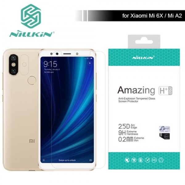 محافظ صفحه نمایش شیشه ای نیلکین Nillkin H+ Pro Xiaomi Mi A2 / Mi 6X