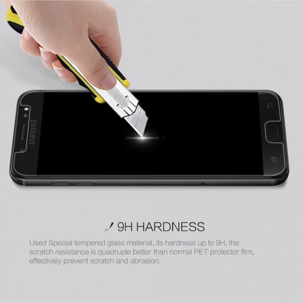 محافظ صفحه نمایش شیشه ای نیلکین H+ Pro Glass Samsung Galaxy C8/J7 Plus