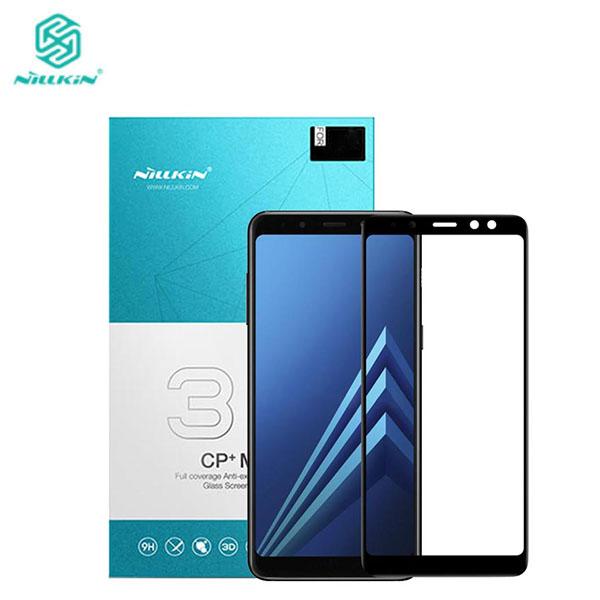 محافظ صفحه نمایش شیشه ای نیلکین 3D CP+ Max Samsung Galaxy A8 2018