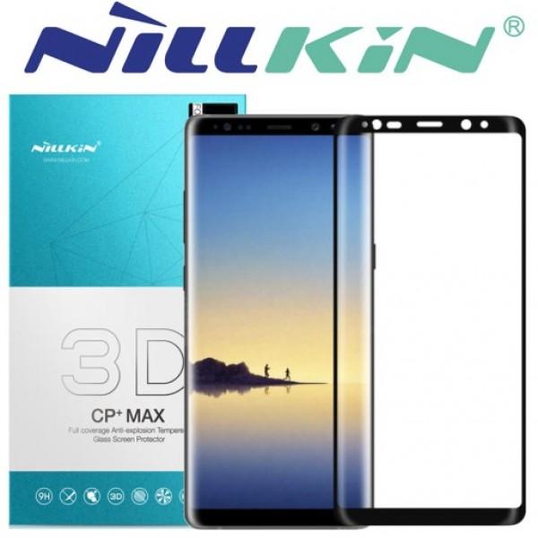 محافظ صفحه نمایش شیشه ای تمام صفحه نیلکین 3D CP+ Max Samsung Galaxy Note 8