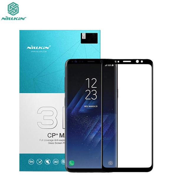 محافظ صفحه نمایش شیشه ای تمام صفحه نیلکین سامسونگ Nillkin 3D CP+ Max Samsung Galaxy S9
