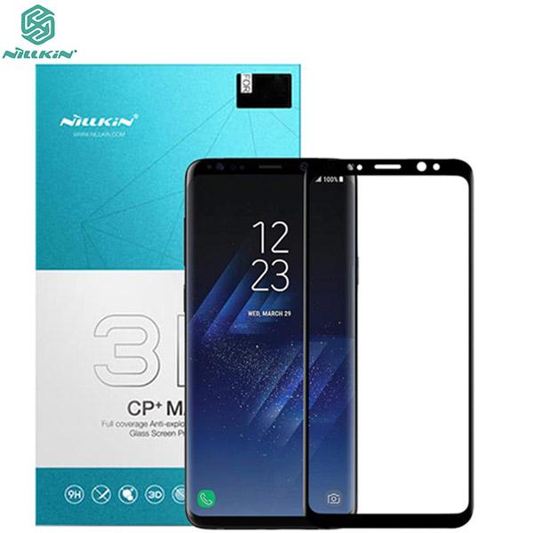 محافظ صفحه نمایش شیشه ای تمام صفحه نیلکین سامسونگ Nillkin 3D CP+ Max Samsung Galaxy S9 Plus