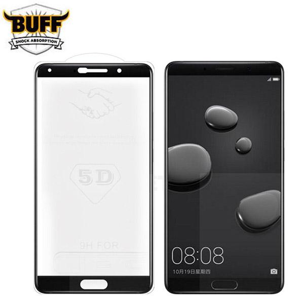 محافظ صفحه شیشه ای تمام صفحه تمام چسب مارک بوف مناسب Huawei Mate 10