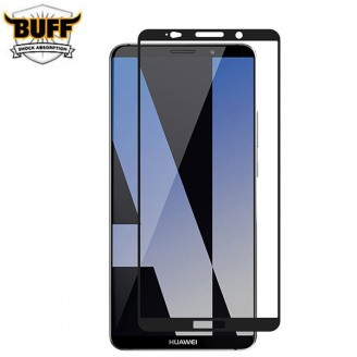 محافظ صفحه نمایش شیشه ای تمام صفحه و خمیده مارک بوف تمام چسب مناسب Huawei Mate 10 Pro