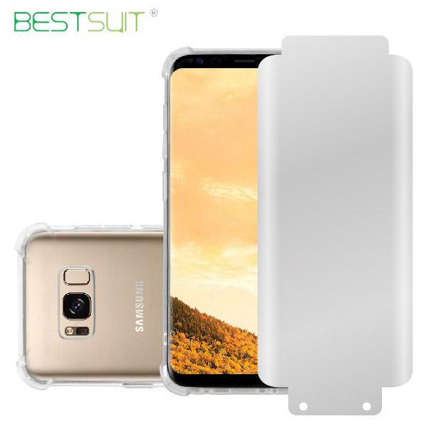 قاب ضدضربه و محافظ صفحه نمایش Smooth مارک BestSuit مناسب Samsung Galaxy S8 Plus