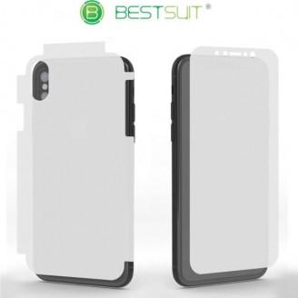 محافظ نانو 360 درجه Anti-Glare Full Body مارک BestSuit مناسب Apple iPhone X