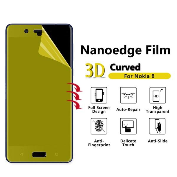 محافظ نانو تمام صفحه مارک رمو مناسب نوکیا Nokia 8