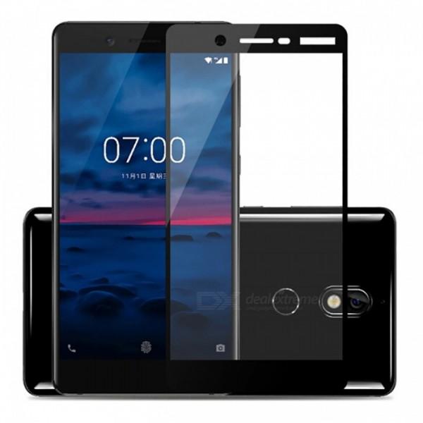 محافظ صفحه نمایش شیشه ای تمام صفحه و خمیده مارک رمو تمام چسب مناسب Nokia 7