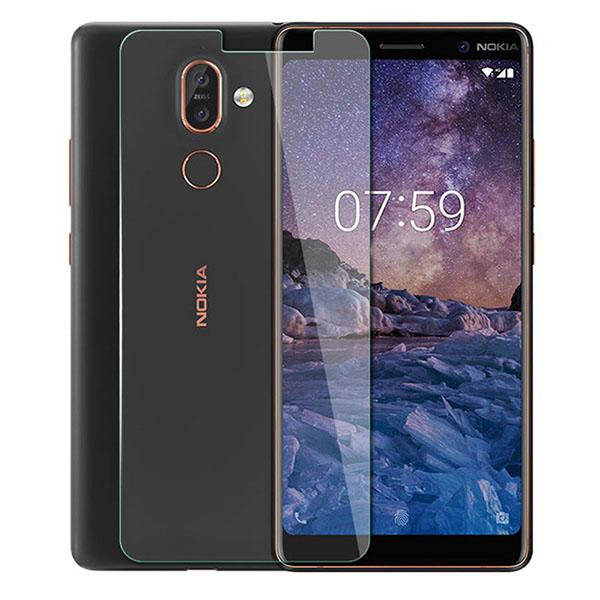 محافظ صفحه نمایش شیشه ای Nokia 7 Plus