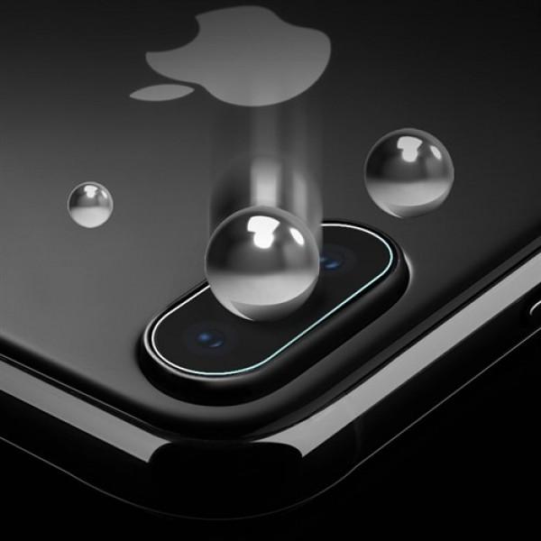 محافظ لنز دوربین شیشه ای موبایل مناسب Apple iPhone X / XS