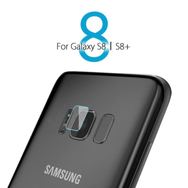 محافظ لنز دوربین شیشه ای موبایل مناسب Samsung Galaxy S8 Plus