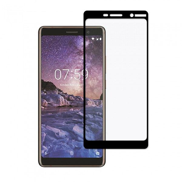 محافظ صفحه نمایش نانو تمام صفحه Nokia 7 Plus
