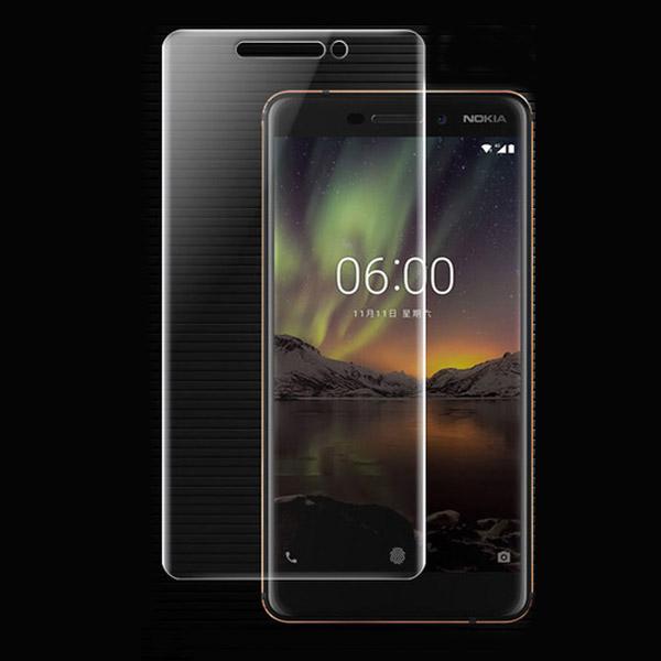 محافظ نانو تمام صفحه مناسب Nokia 6.1 2018