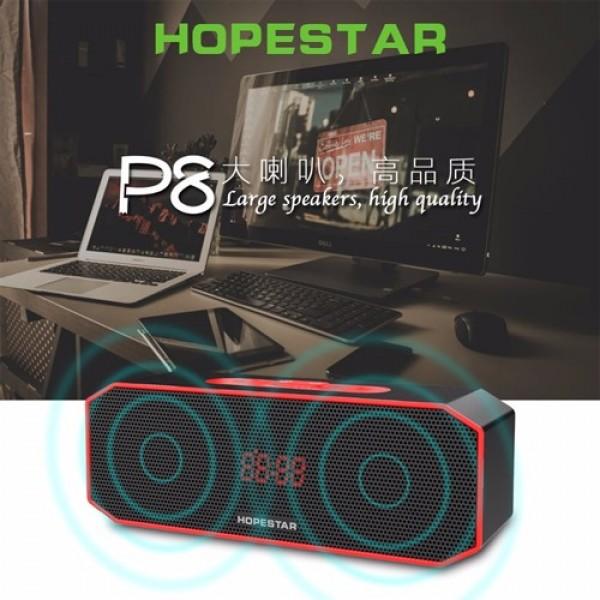 اسپیکر بلوتوث و پاوربانک هاپ استار رومیزی HopeStar P8 ضد آب