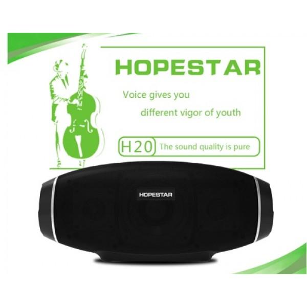 اسپیکر بلوتوث ضد رطوبت و پاوربانک هاپ استار HopeStar H20