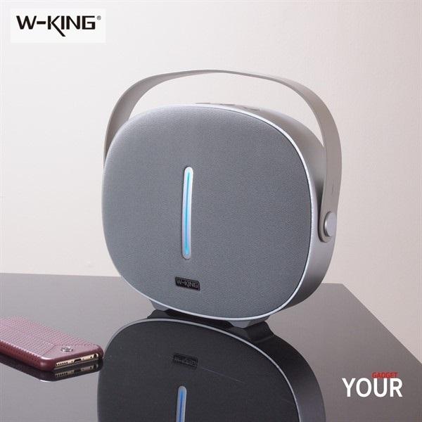 اسپیکر بلوتوث رم و فلش خور دبلیو کینگ W-King T8 Wireless Speaker