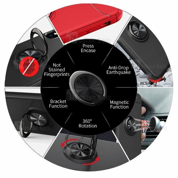 قاب Becation Auto Focus Magnetic Ring Case Samsung Galaxy A7 2018 / A750