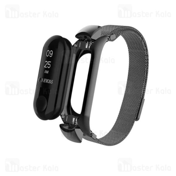 بند دستبند سلامتی شیائومی Xiaomi Mi Band 3 Milanese Metal Strap