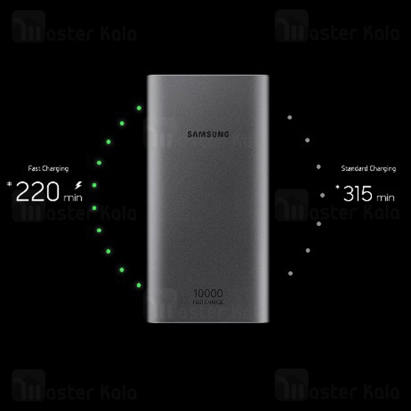 پاوربانک سامسونگ Samsung EB-P1100BSEGAE 10000mAh Dual Port 15W