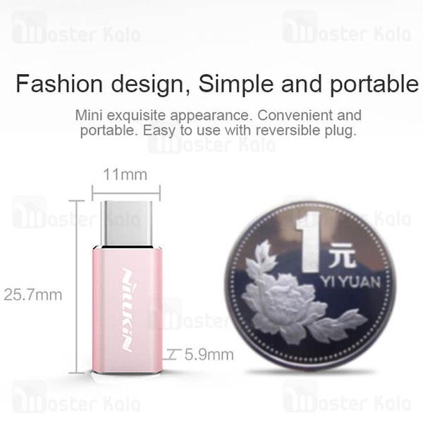 تبدیل Nillkin Micro USB to Type-C Adapter