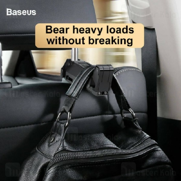 هولدر بیسوس Baseus Back Seat Hook Mobile Phone Holder SUHZ-A01