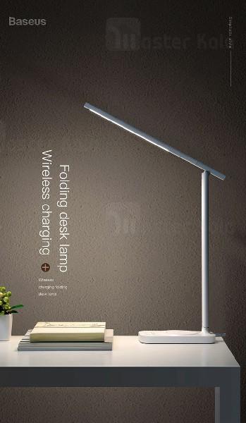 چراغ مطالعه Baseus Lett Wireless Charging Folding Desk Lamp