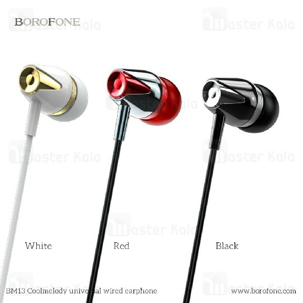 ایرفون سیمی BOROFONE BM13 Crystal Clear Sound wired Handsfree