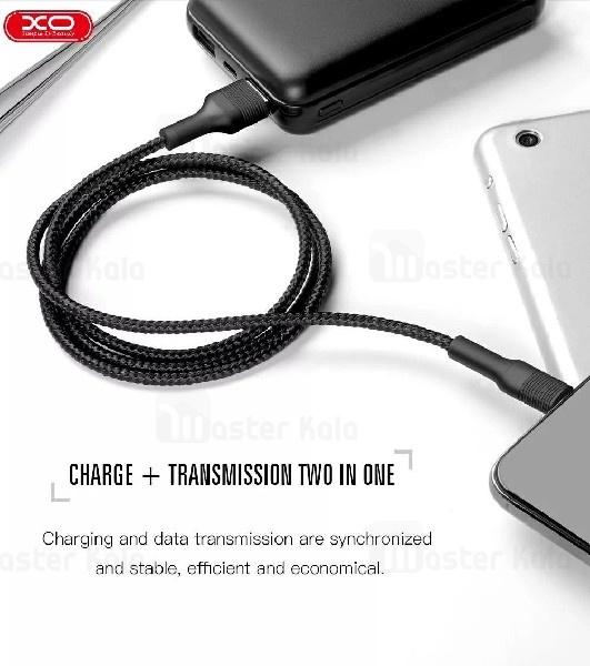کابل آیفونی XO NB51 Lightning Cable 2.1A 1m